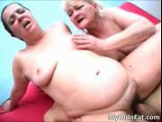 Nasty hot blonde and brunette MILF sluts with big boobs