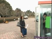 Japanese flasher gets some hard core sex 1 by JPflasher