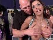 Awesome hot big boobs nasty sexy body brunette MILF slu