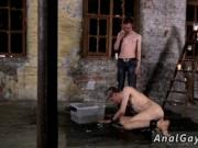 Gay seniors anal sex His fuck-stick is caged and unable