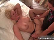 Amateur wife with big tits gets fucked hard in her ass