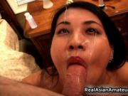 Tatooed and percing asian suck and fuck lucky guy 5 by