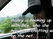 Shemale Bailey Jay and Bee Armitage anal and facial