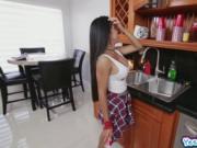 Puerto Rican Emily Mena Nice Fake Tits
