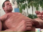 Camdem blasting his load all over his massage master by