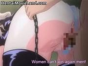 Busty big boobed blonde anime babe gets her ass wrecked