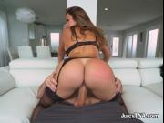 Curvy Babe Julianna Vega Rides Lovers Face And Cock