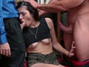 Shoplifter Audrey Royal hardcore office fuck