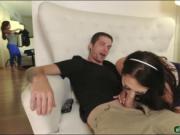 Megan Sage pounded by her big stepbro