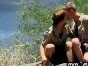 Gay orgy With the awesome cutie of the wilderness aroun