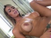 Big tits shemale Camyle Victoria jerkoff