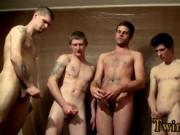 Twinks XXX The studs are gathering around and tugging o