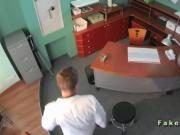 Doctor fucks patient on a desk