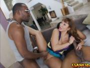 Naughty MILF Ava Devine double penetrated