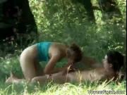 A couple up the park voyeur web cam flick 3 by VoyeurFr
