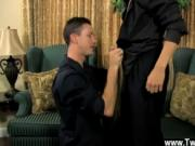 Hot gay Danny Brooks wants new employee Jacob Marteny t
