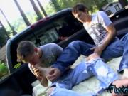 Gay XXX An Outdoor Fuck For Foot Lovers