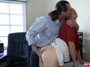 Mr Rich feeding innocent Shyla Ryder his big cock