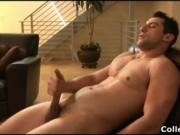 Nick Torretto busting his amazing college dick hard and