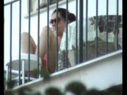 Voyeur Spying girl next door