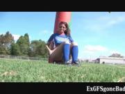 Aroused football player gets filmed on secret web cam 5