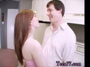 Hot tan teen first time Janine poking an older guy