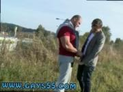Hard hunks gay Muscular Studs Fuck in The Grassy Field!