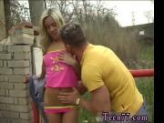 Gorgeous blonde czech public Josje boinking her paramou