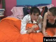 Twink movie It happens organically with sensual kisses
