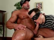 Muscled stud gets his amazing penis sucked 4 by GotMask