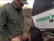 Big tits latin babe banged by BP officer