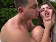 Kylie Quinn rough hardoor outdoor sex