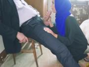 Making that Arab bend and fuck doggystyle from behind