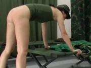 Army Caning slapping clip 1 by elitespanker