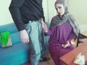 Sweet Arab cutie sells pussy to stranger
