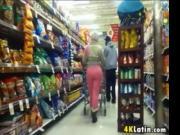 Latina With An Ass In Pink Pants