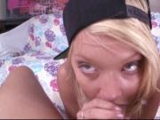 Blonde Dakota Skye takes anal penetration
