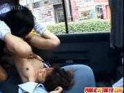 Arisa Himeno sex in the car
