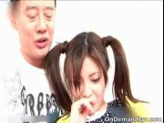 Super hot and sexy oriental girl Yurika Gotou gets tiny
