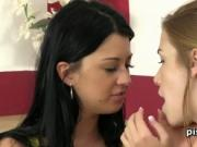 Lollypop and Alexis Crystal sharing piss and cock