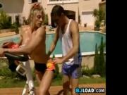 3some After Exercising Outside