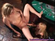 Hot body sexy nasty blonde lesbian babes having fun wit