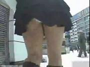 Cute Japanese school girl peep cam