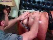 Lascive brunette enjoying anal sex