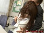 Megu Ayase Lovely Asian teacher is hot for cock 1 by My