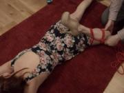 Extreme whore violently ana fucked and fucked BDSM sub