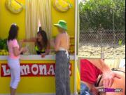 Lemonade Vendor Charlotte Cross Gets Boned From Behind