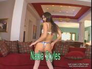 Hot Brunette Nadia Sucked Cock