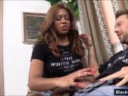 Huge boobs black beauty Katt Garcia asshole fucked