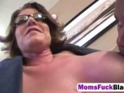 Busty mom Kayla Quinn gets fucked